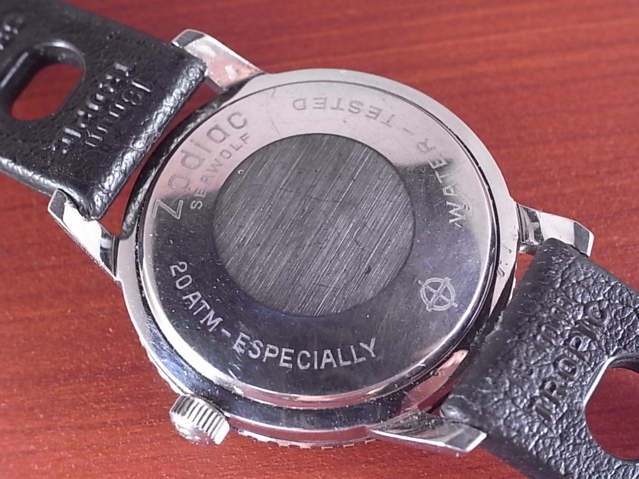 ゾディアック シーウルフ オートマチック ベイクライトベゼル 1970年代の写真4枚目