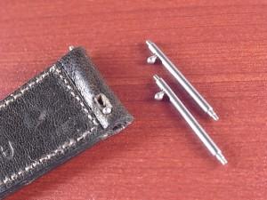 革ベルト、ワンタッチバネ棒がオプションで加工できるようになりました