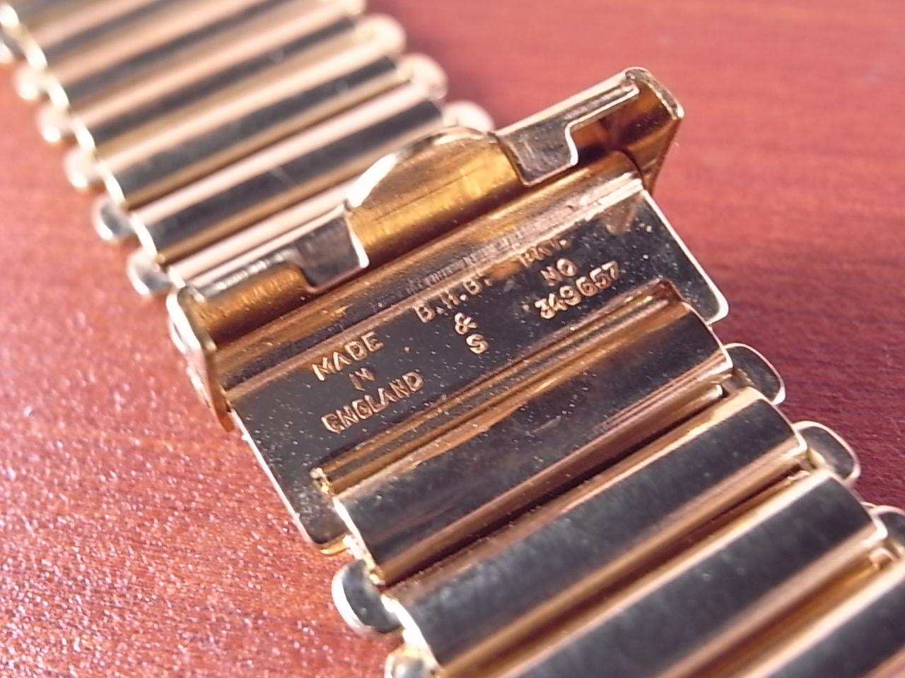 ボンクリップ バンブーブレス YGF 18mm N.O.S. 台紙付き 1940年代の写真3枚目
