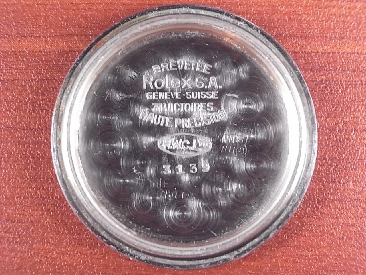 ロレックス オイスター アーミー Ref.3139 ボンクリップバンブーブレス付 1940年代の写真6枚目