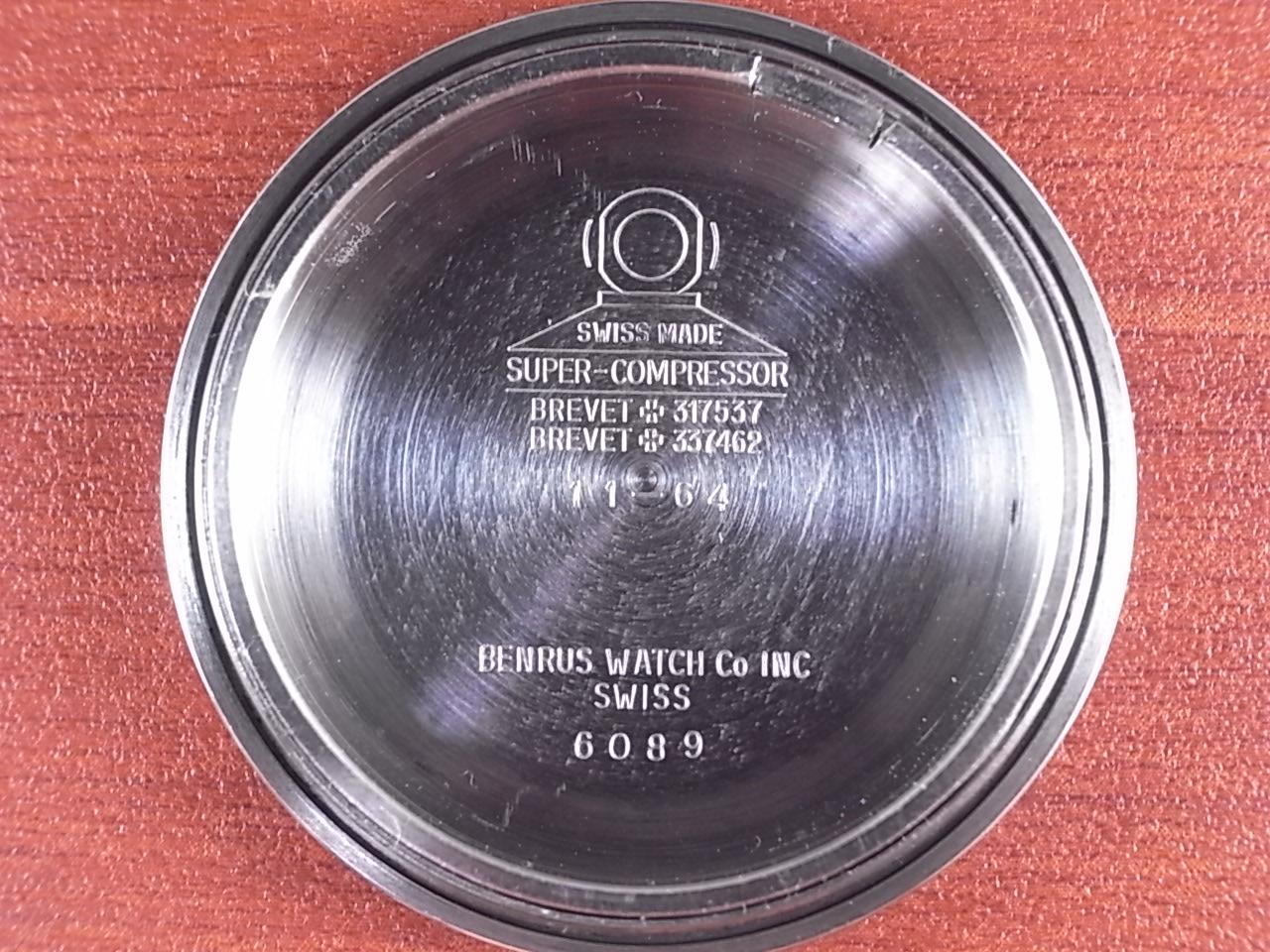 ベンラス ウルトラディープ スーパーコンプレッサー ニアミントコンディション 1960年代の写真6枚目