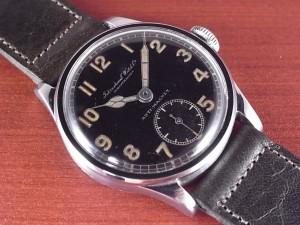 IWC インター キャリバー83 ブラックミラーダイアル スクリューバック 1930年代