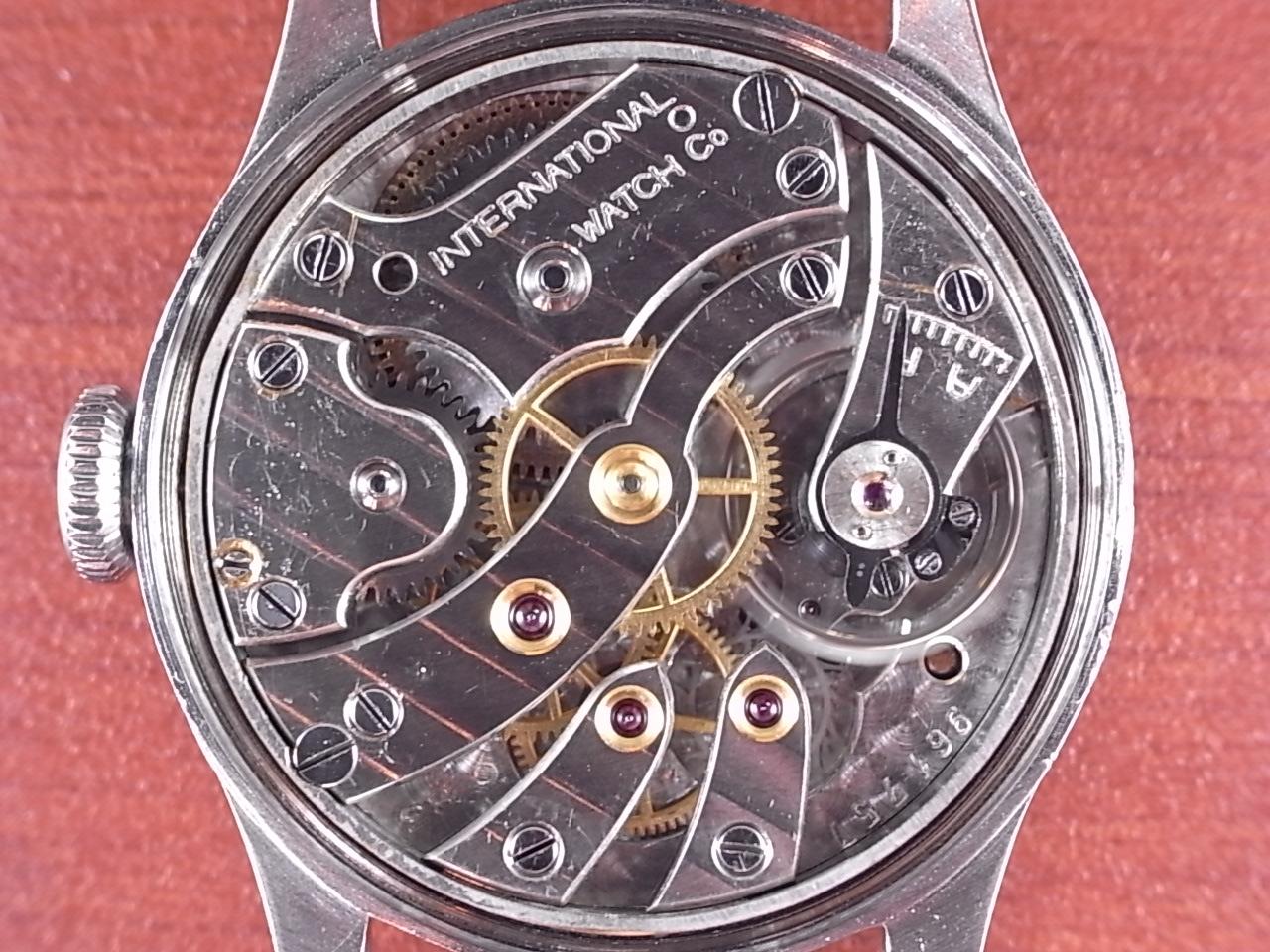 IWC インター キャリバー83 ブラックミラーダイアル スクリューバック 1930年代の写真5枚目