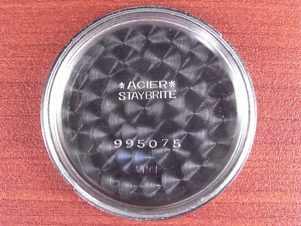 IWC インター キャリバー83 ブラックミラーダイアル スクリューバック 1930年代の写真6枚目