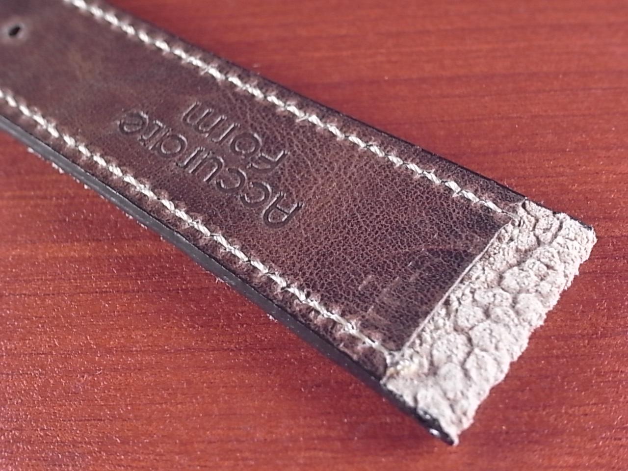 エレファント革ベルト ヴィンテージベージュ 18、20mm CBE-01aの写真6枚目