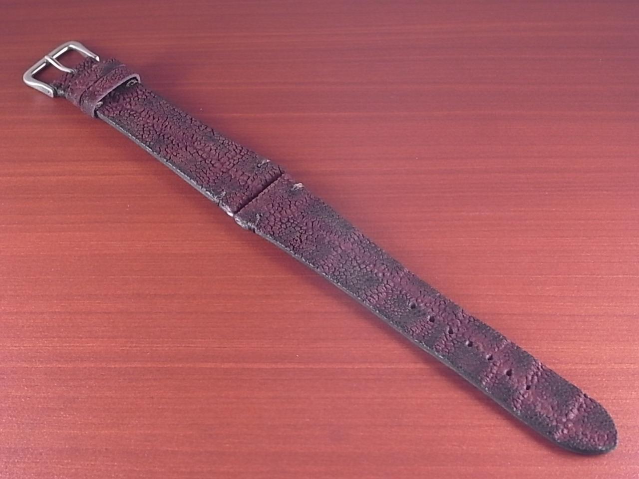エレファント革ベルト ボルドー 18、20mm CBE-02aのメイン写真