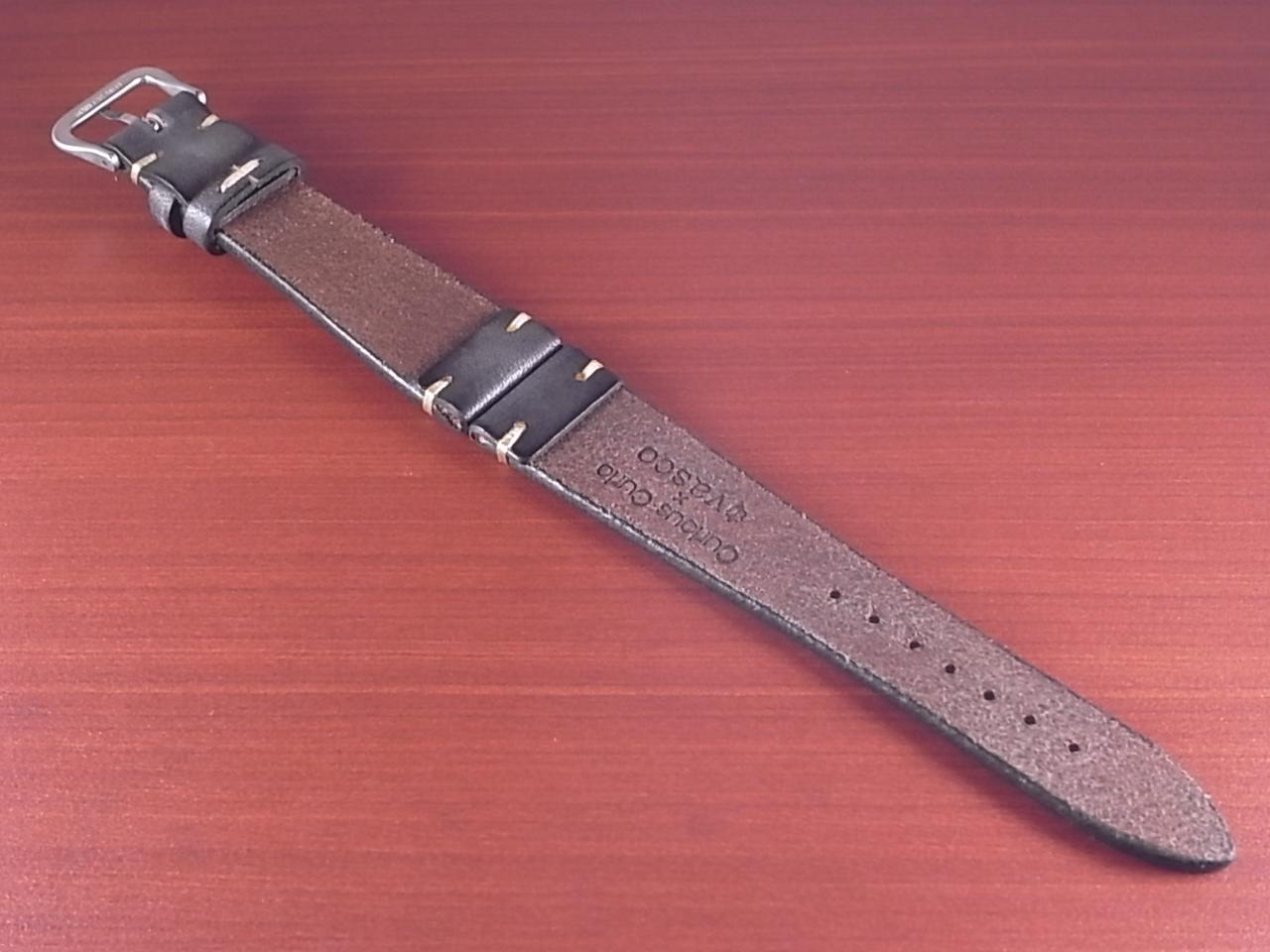 C × V  牛ヌメ革ベルト レギュラー グレー 18、20mm CBV-02a の写真2枚目