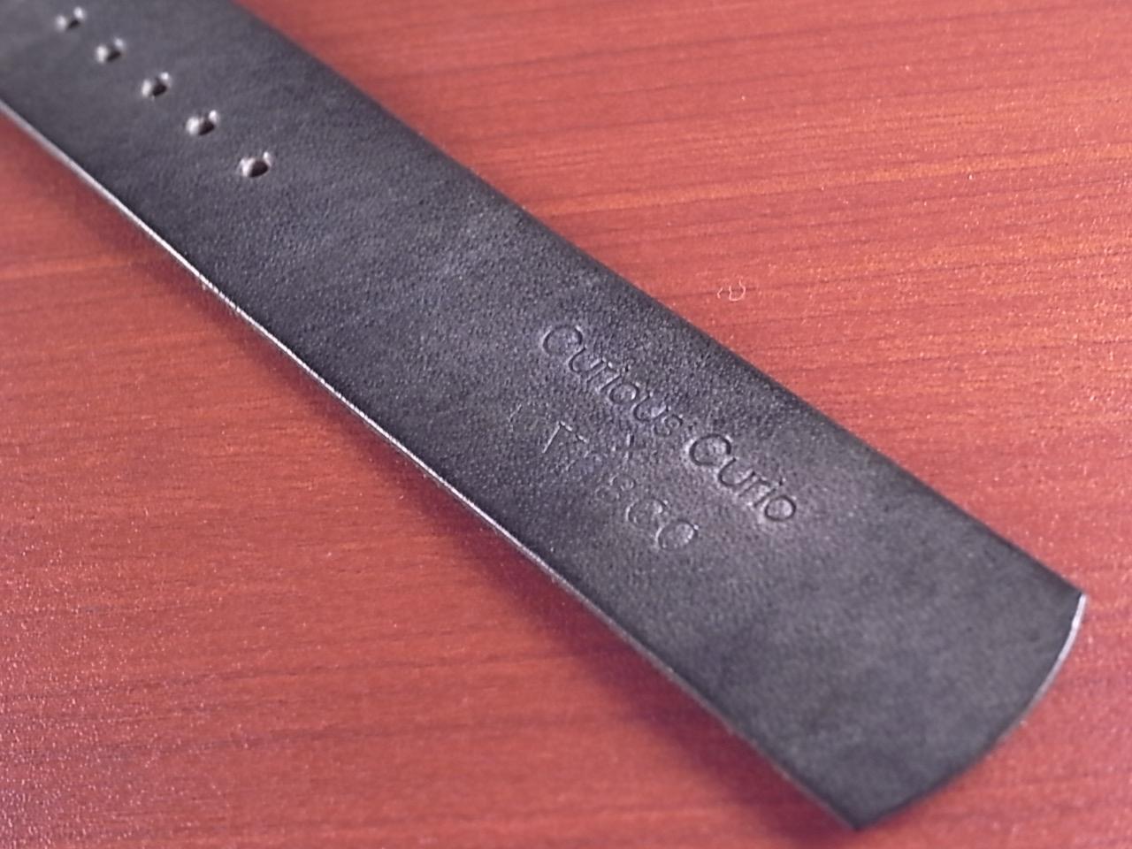 C × V  牛ヌメ革ベルト NATO グレー 18、20mm CBV-04Naの写真6枚目