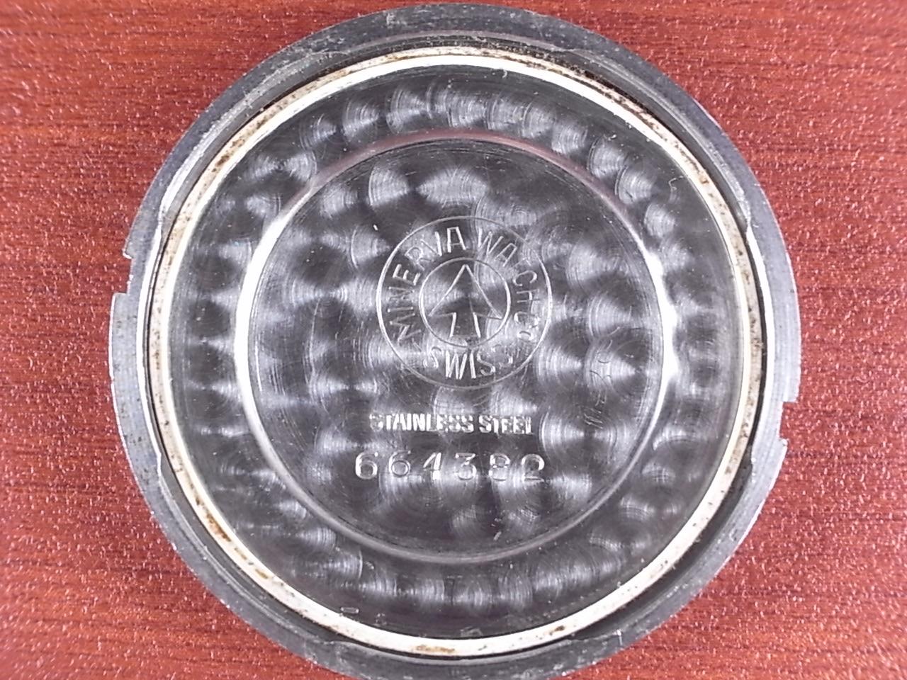 ミネルバ キャリバー49 ピンクダイアル ツイストバック 1940年代の写真6枚目