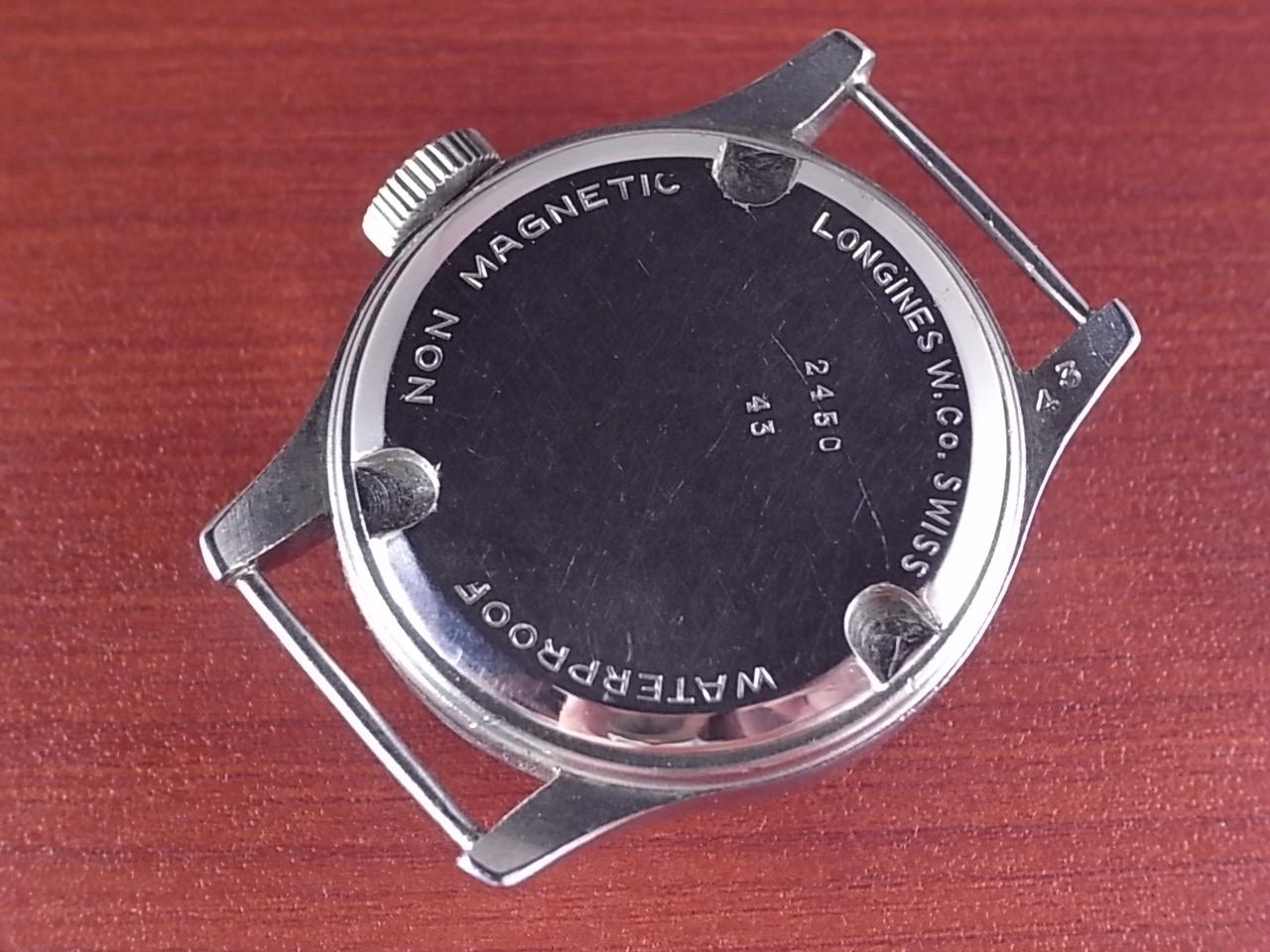 ロンジン Wネーム ブレゲセクター ステップベゼル トレタッシェケース 1930年代の写真4枚目