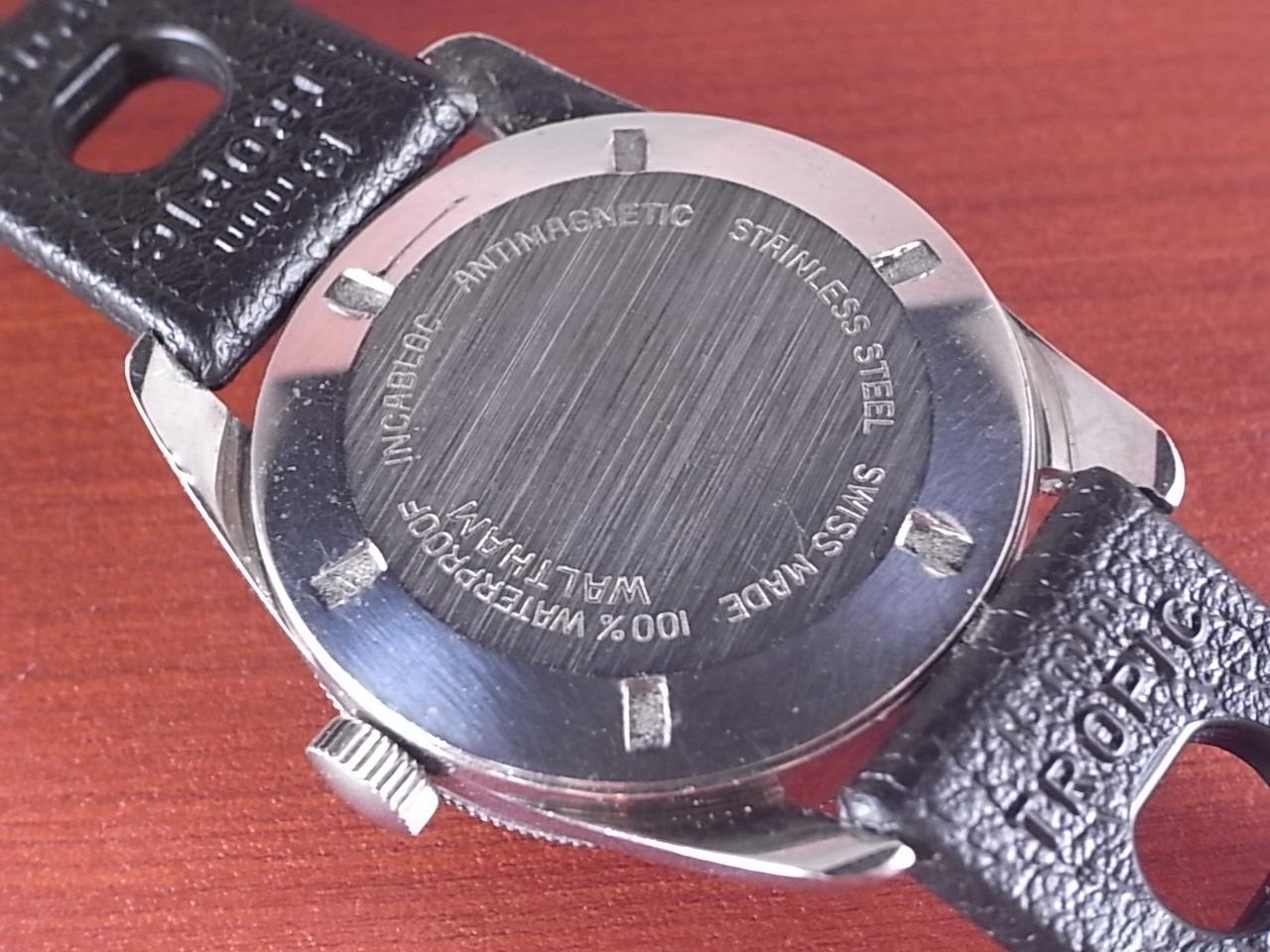 ウォルサム ダイバーズウォッチ ベイクライトベゼル 1960年代の写真4枚目
