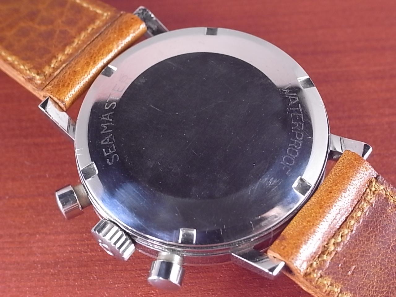 オメガ シーマスター クロノグラフ Cal.321 シルバーダイアル 1960年代の写真4枚目