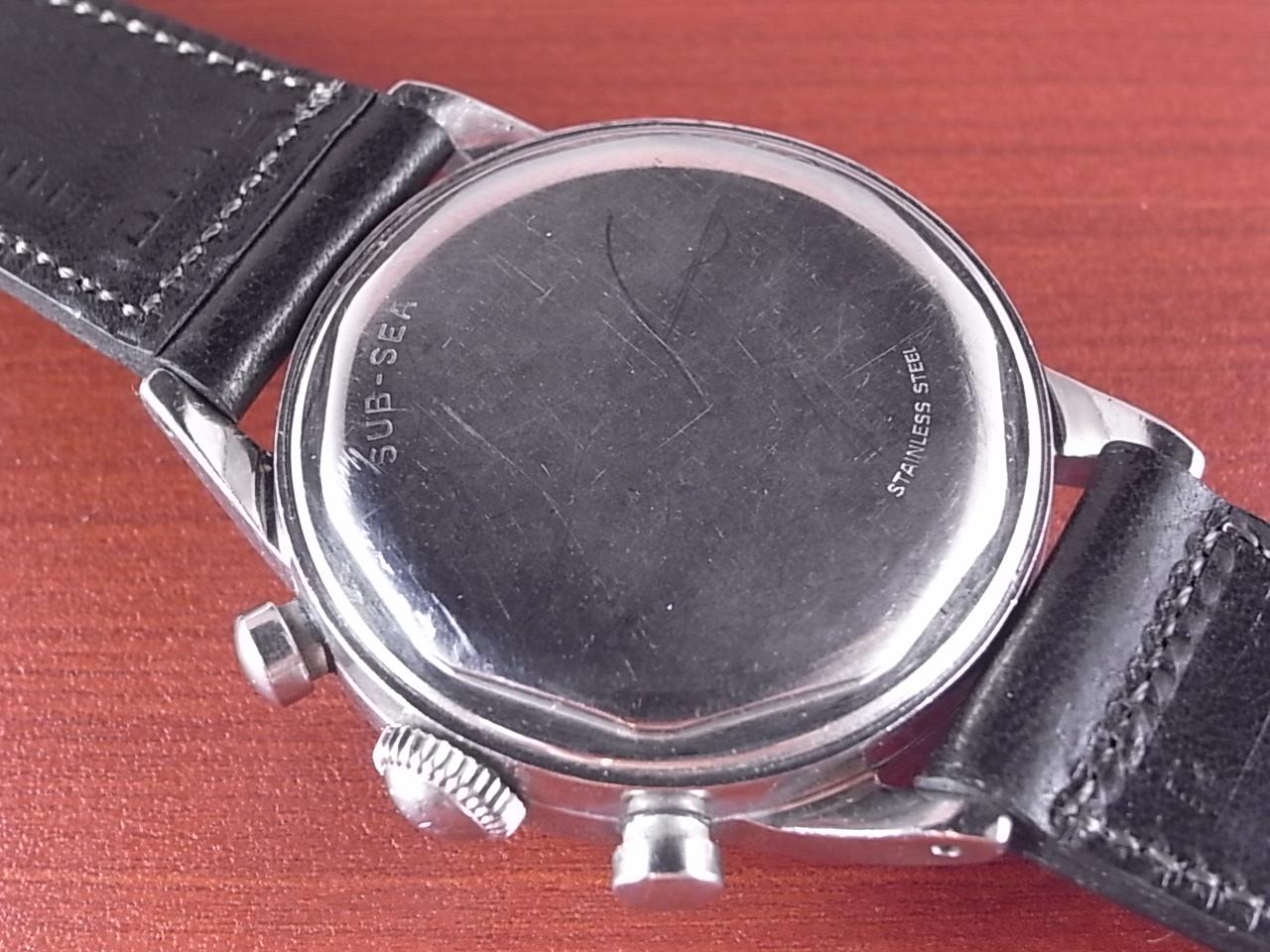 モバード サブシー クロノグラフ Cal.95M パンダダイアル FBケース 1960年代の写真4枚目