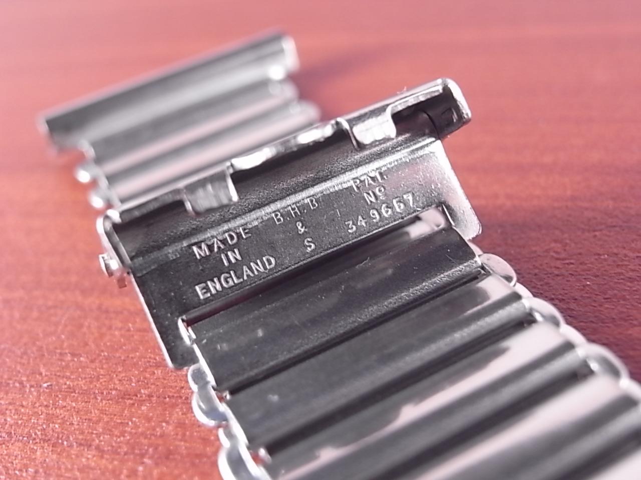 ボンクリップ バンブーブレス NOS リンク16mm 取付18mm SS 1940年代の写真3枚目