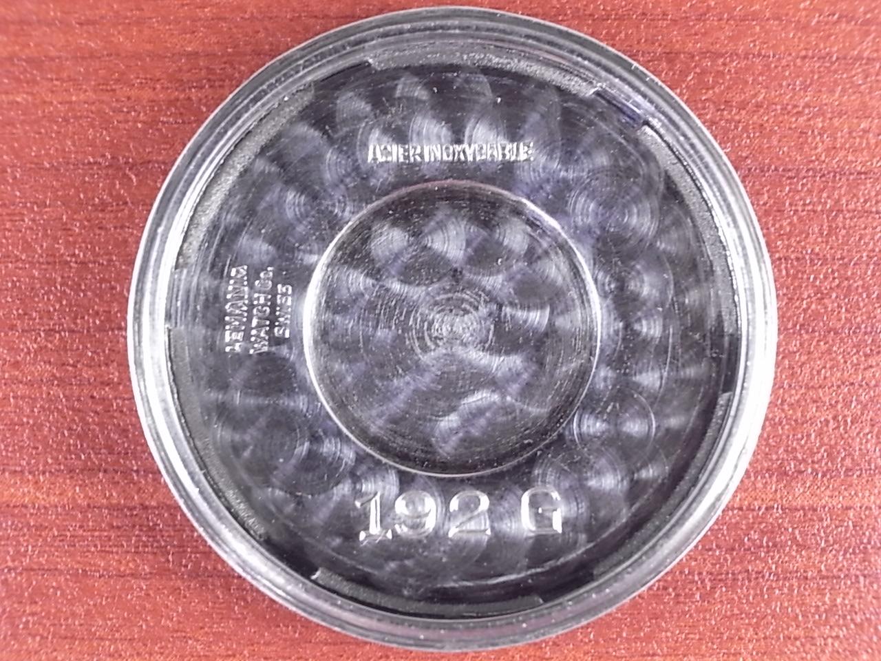 レマニア ブルズアイ ブラック/グレー 2トーンダイアル 1940年代の写真6枚目