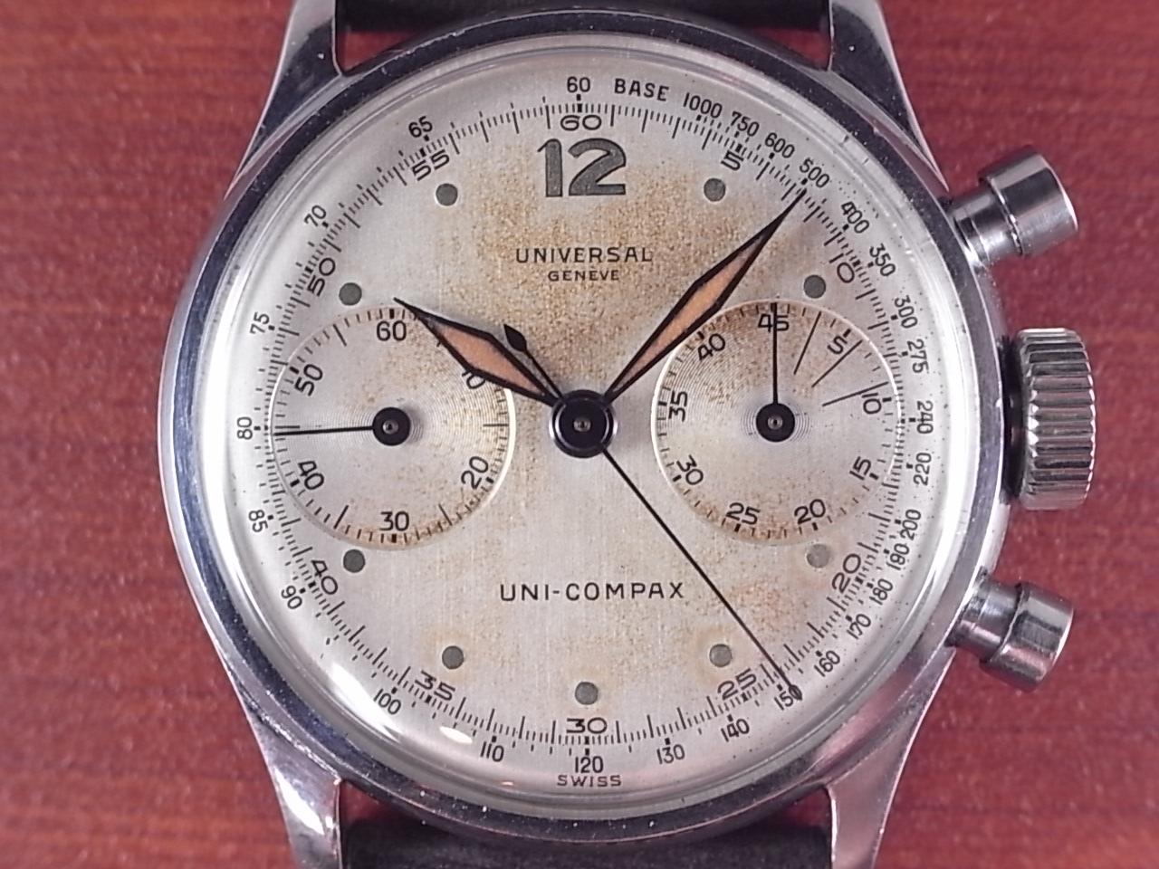 ユニバーサル ユニコンパックス クロノグラフ キャリバー281 1940年代 の写真2枚目