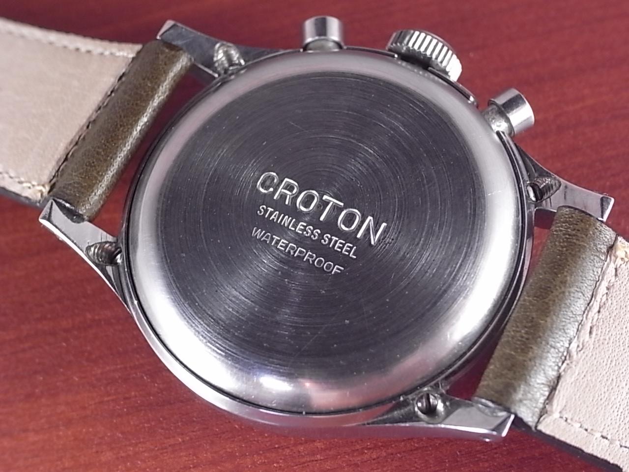 クロトン クロノグラフ バルジュー77 クラムシェルケース 1940年代の写真4枚目