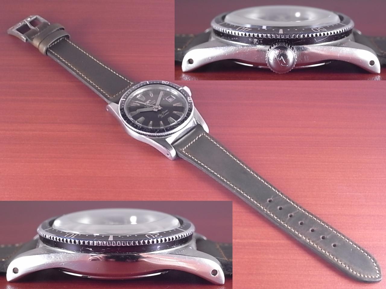 テクノス スカイダイバー 30JEWEL 尾錠・BOX付 1960年代の写真3枚目