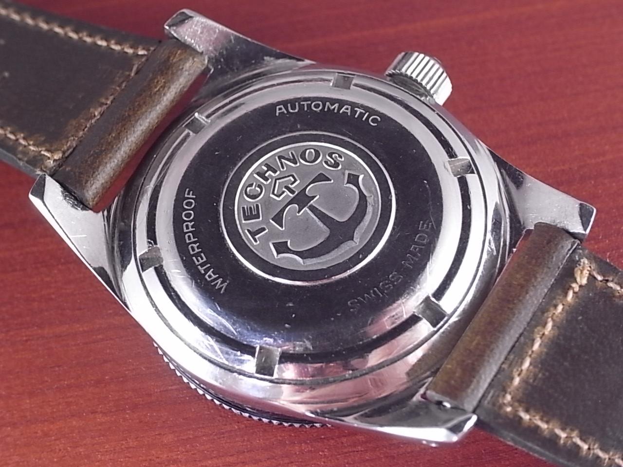 テクノス スカイダイバー 30JEWEL 尾錠・BOX付 1960年代の写真4枚目