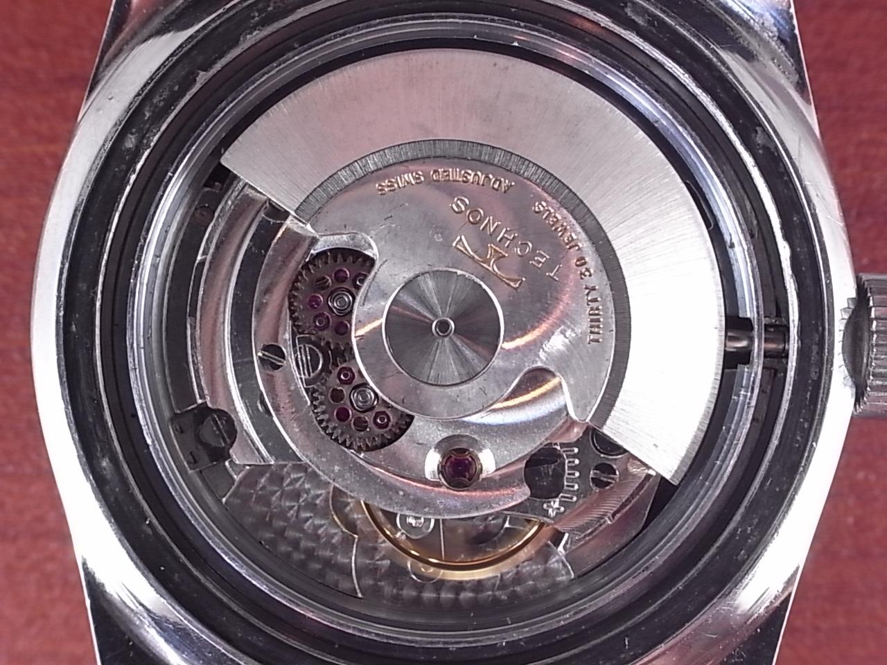 テクノス スカイダイバー 30JEWEL 尾錠・BOX付 1960年代の写真5枚目
