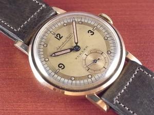 IWC インター チューラーWネーム 18KYG Cal.83 デコダイアル 1930年代