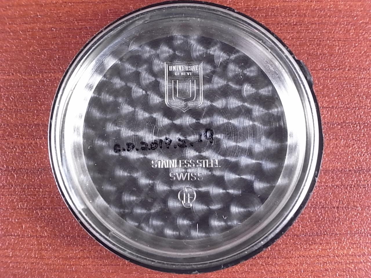 ユニバーサル・ジュネーブ トリコンパックス クロノグラフ 1960年代の写真6枚目