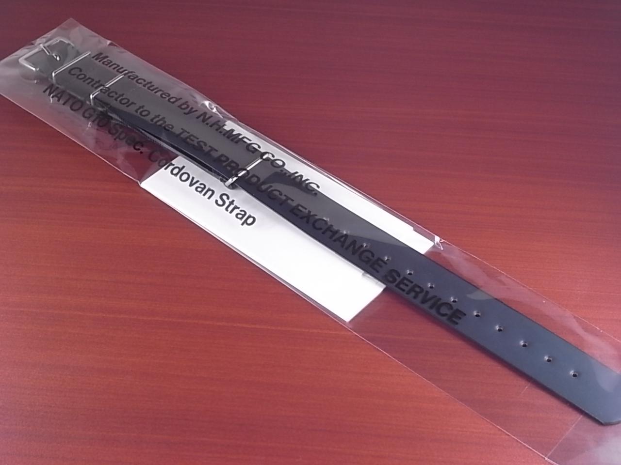 N.ハリウッド×キュリオスキュリオ コラボNATOコードバン革ベルトの写真6枚目