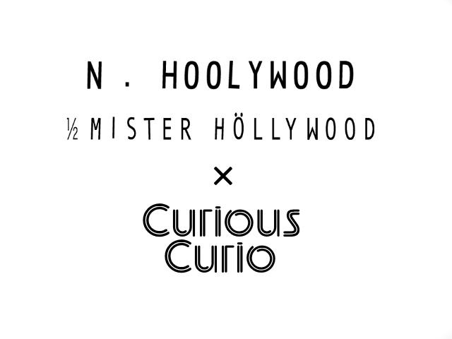 N.HOOLYWOOD × Curious Curio コラボレーション NATOベルト発売