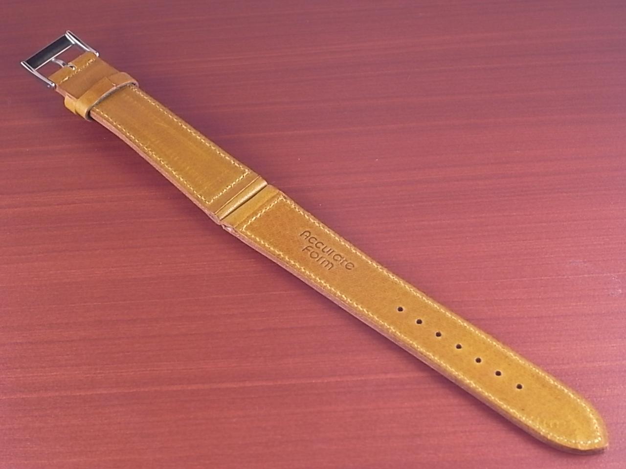 艶ありヌメ牛ステア 革ベルト ライトブラウン 16、17、18、19、20mm CC-038aの写真2枚目