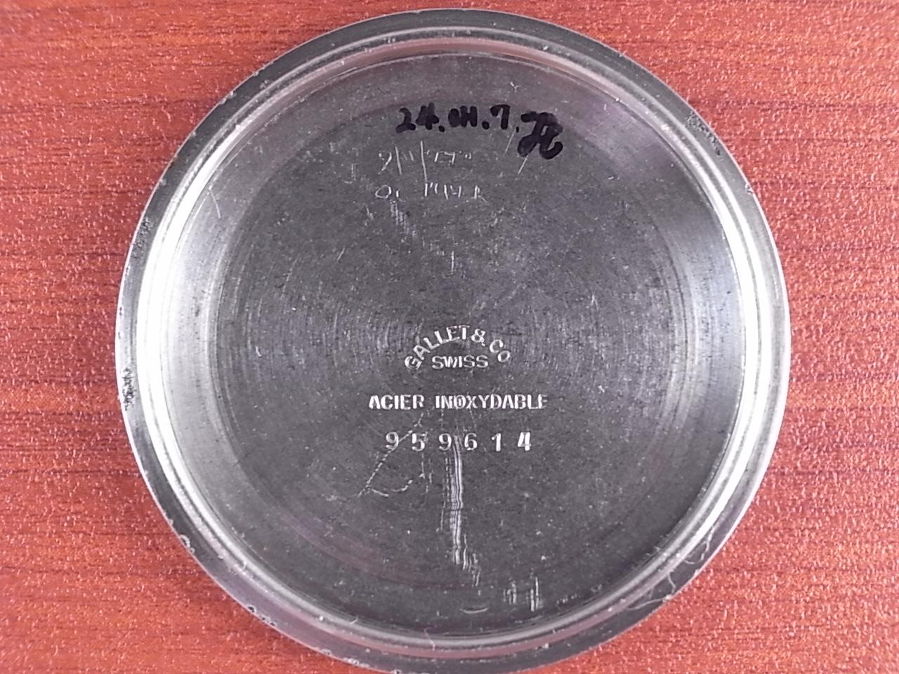 ギャレット クロノグラフ Cal.エクセルシオパーク40-68 プラベゼル 1960年代の写真6枚目
