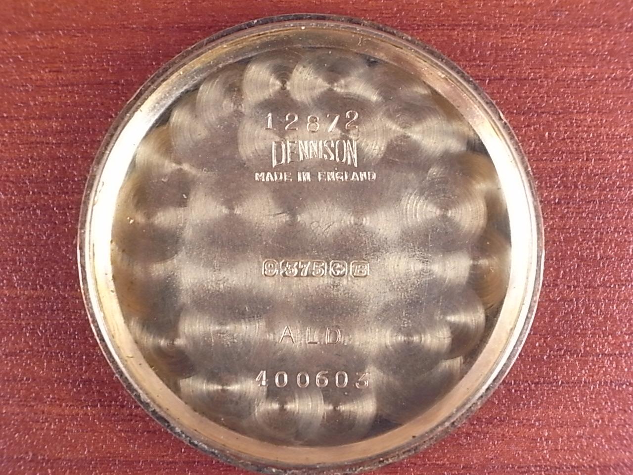 ジャガールクルト ローマンセクターダイアル 9KYG デニソンケース 1950年代の写真6枚目