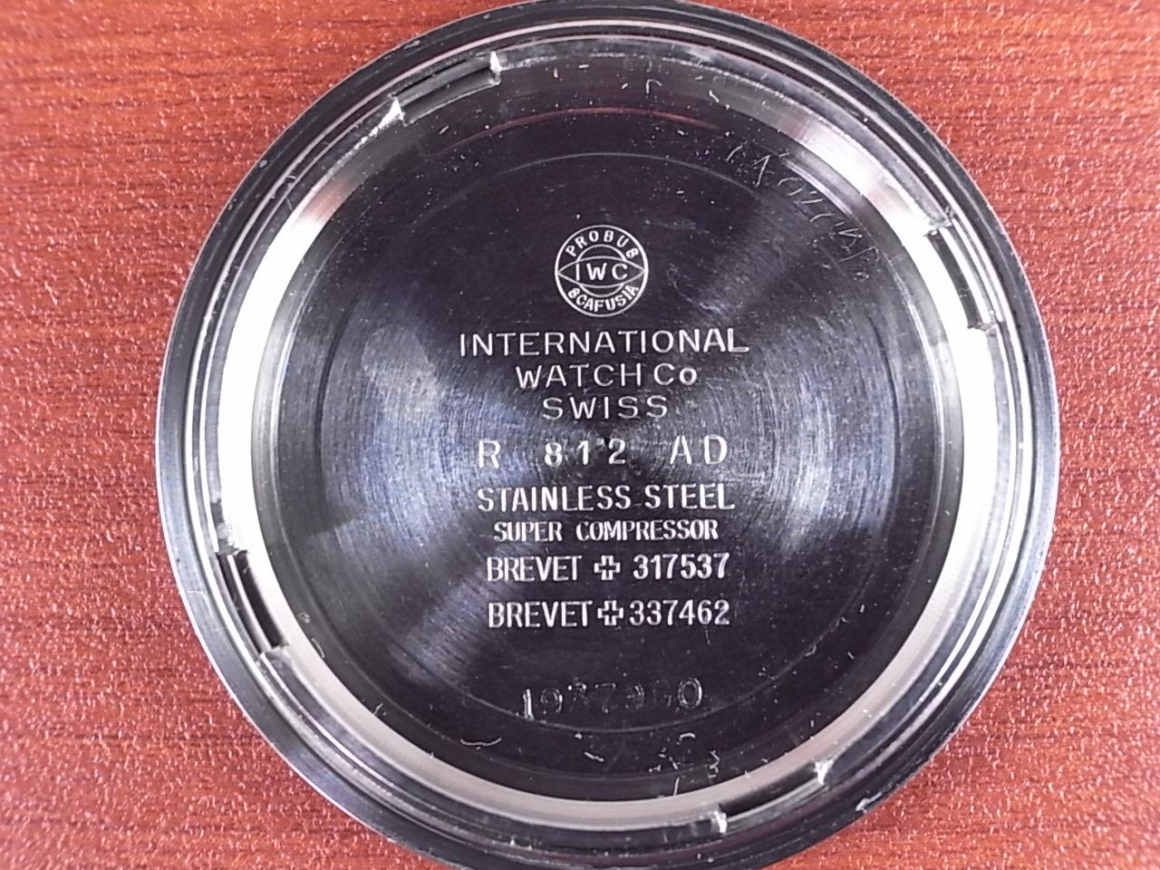 IWC インター アクアタイマー ファーストモデル 後期 Ref.812AD 1970年代の写真6枚目