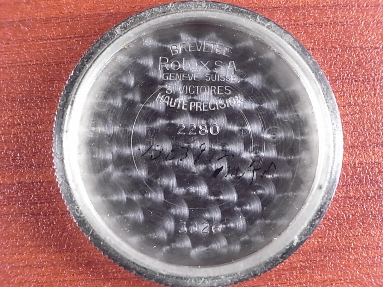 ロレックス オイスター ローヤライト オブザバトリー マジェスティックダイアル 1940年代の写真6枚目