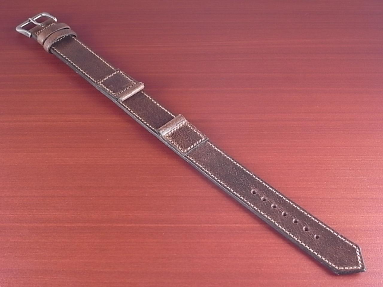 ホーウィン クロムエクセル 米軍タイプ革ベルト ナチュラル 16mmのメイン写真