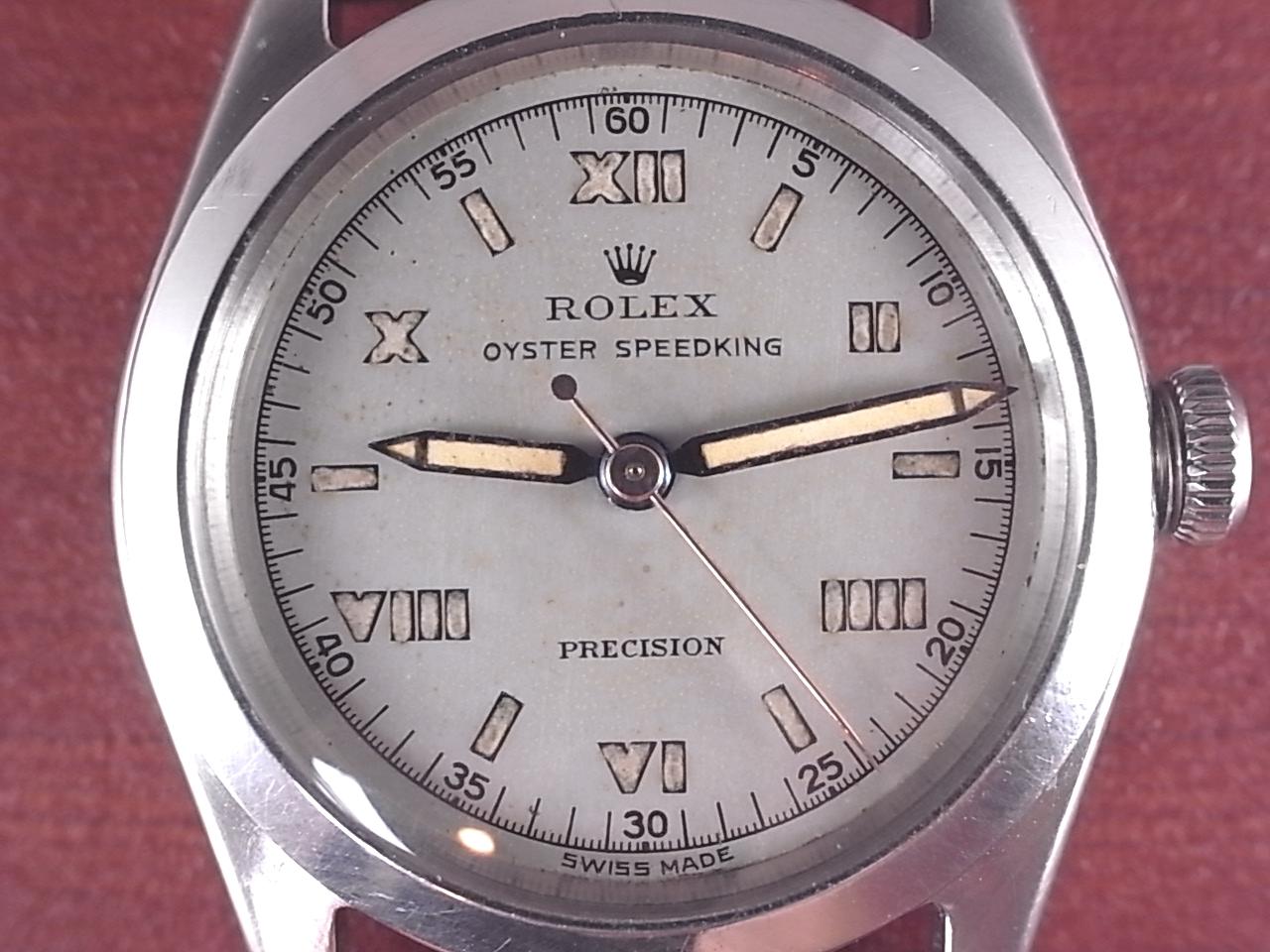 ロレックス スピードキング ローマンインデックス Ref.4220 1940年代の写真2枚目