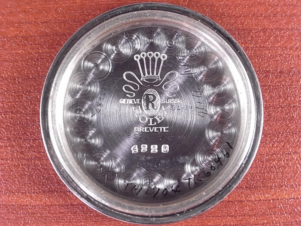 ロレックス スピードキング ローマンインデックス Ref.4220 1940年代の写真6枚目