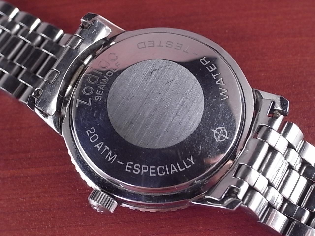 ゾディアック シーウルフ ブルーダイアル レーシングベゼル 1960年代の写真4枚目
