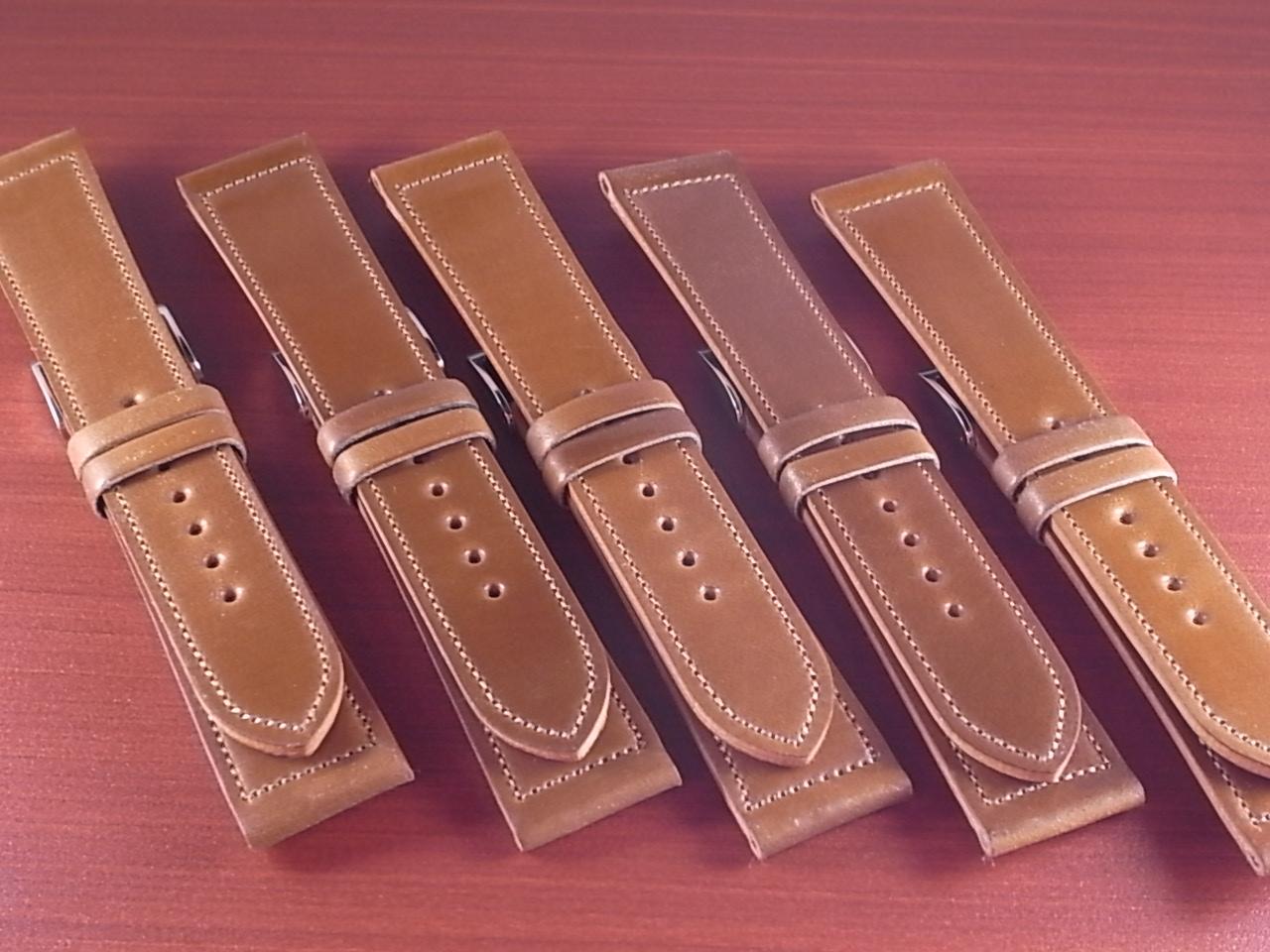 ホーウィン シェルコードバン バーボン 革ベルト 5本限定販売!
