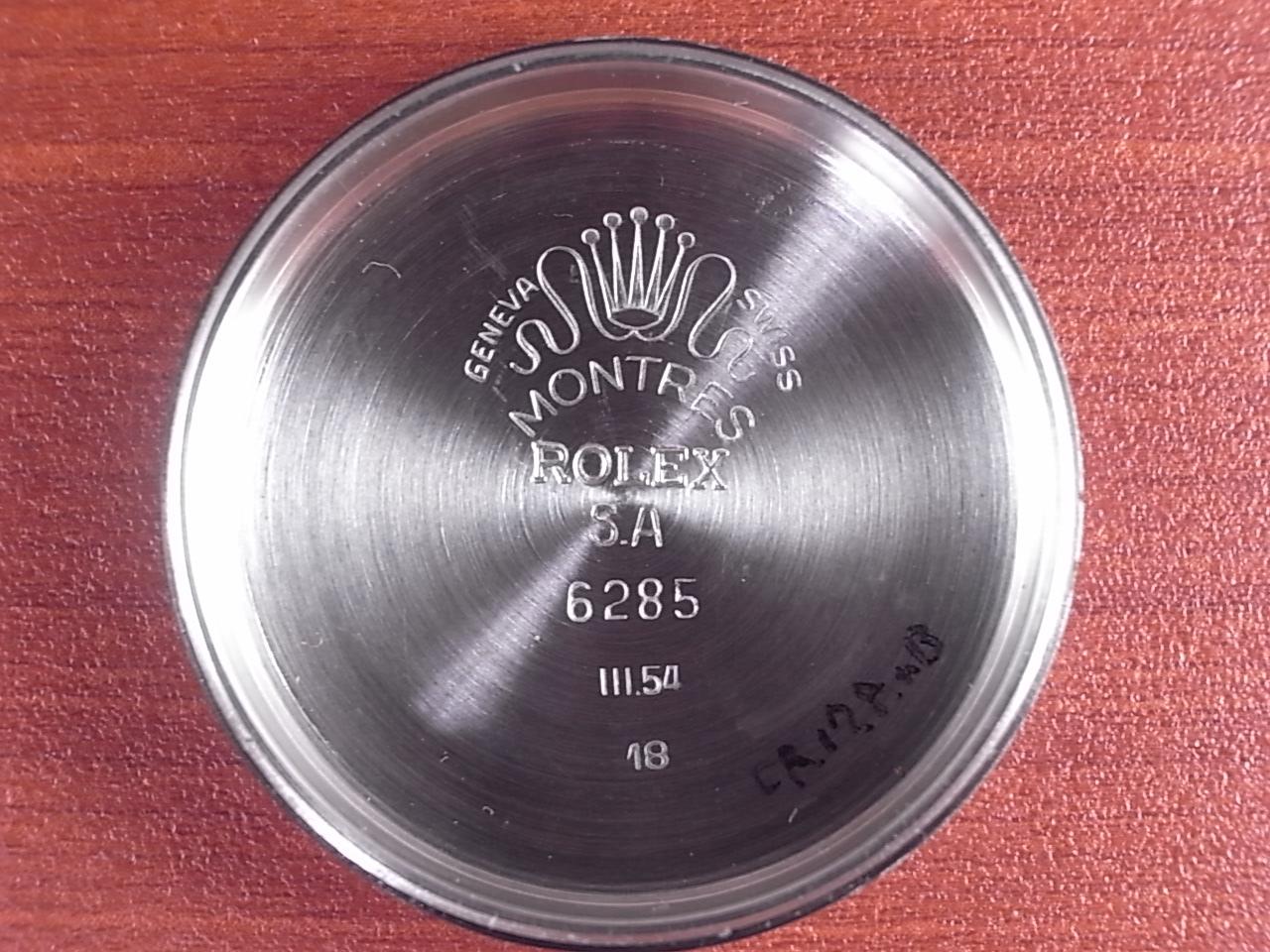 ロレックス セミバブルバック Ref.6285 ハニカムダイアル 1950年代の写真6枚目