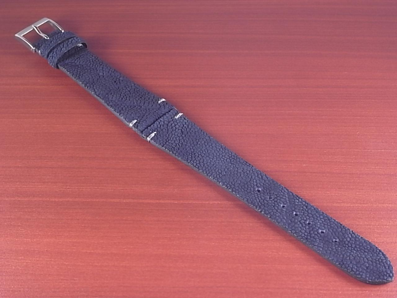 エレファント革ベルト ネイビー 18、20mm CBE-03aのメイン写真