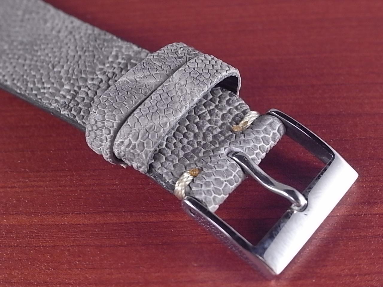 エレファント革ベルト グレー 18、20mm CBE-04aの写真3枚目