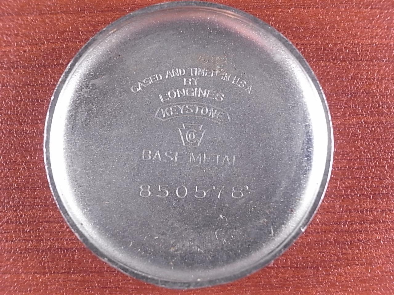 ロンジン ウィームス ブレゲインデックス ボーイズサイズ 1940年代の写真6枚目