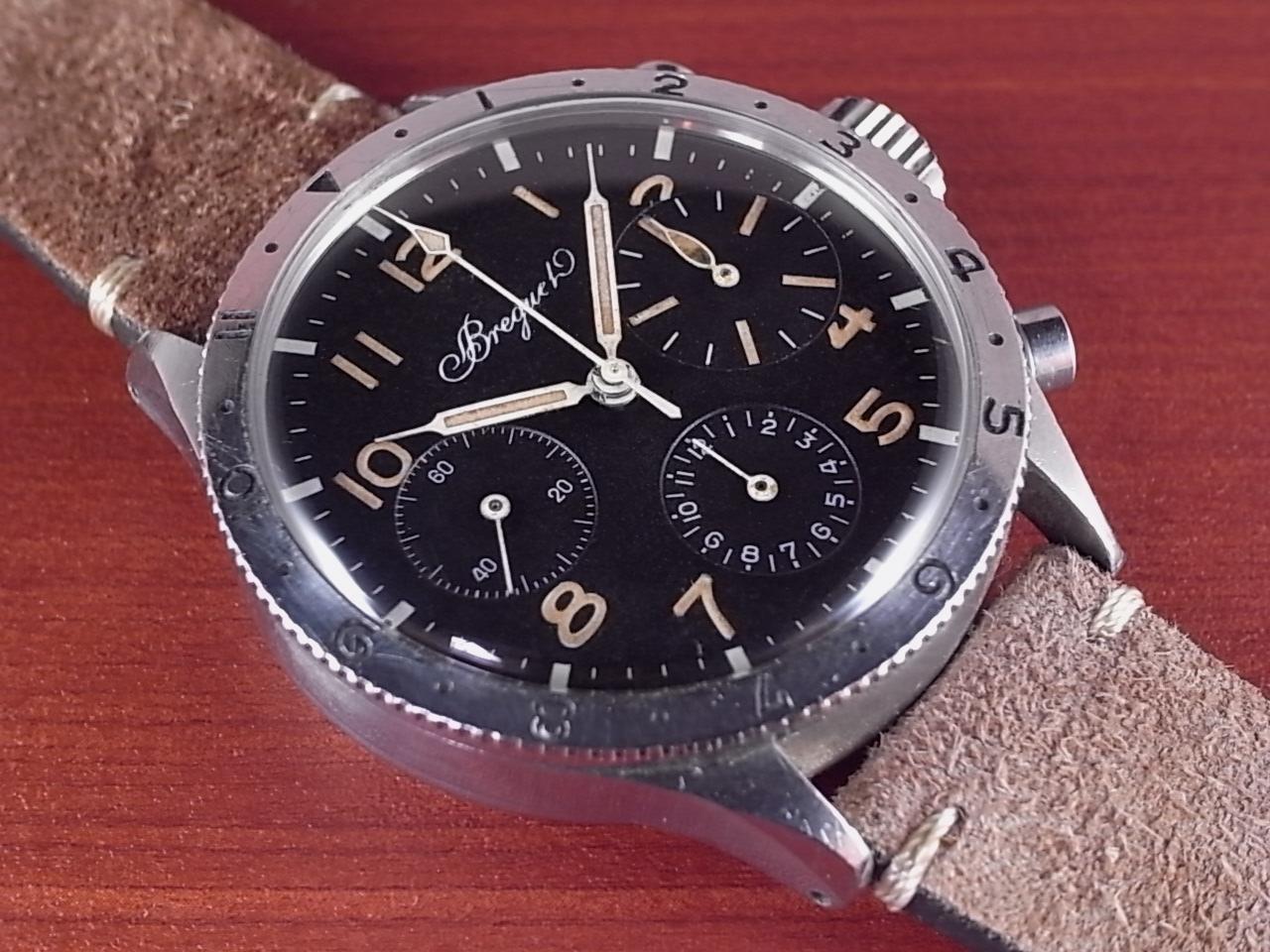 ブレゲ タイプ20 パイロットクロノグラフ バルジュー225 1960年代のメイン写真