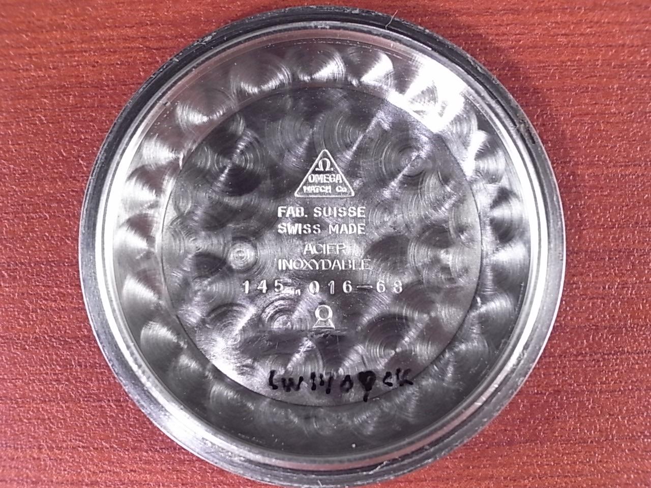 オメガ シーマスター クロノグラフ Ref.145.016 Cal.861 1960年代の写真6枚目