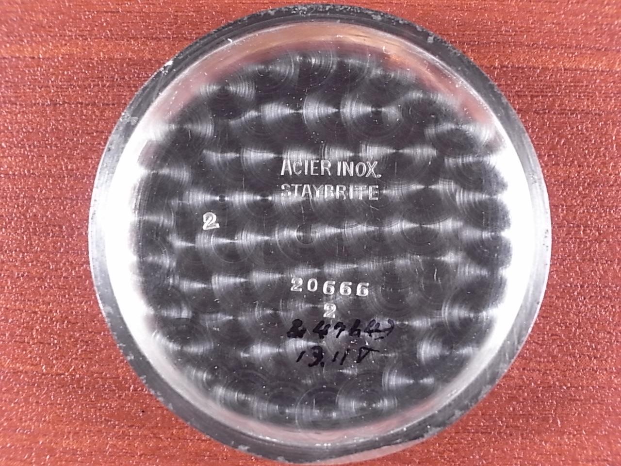 ロンジン ストップセコンド ボンクリップ バンブーブレス付き 1930年代の写真6枚目