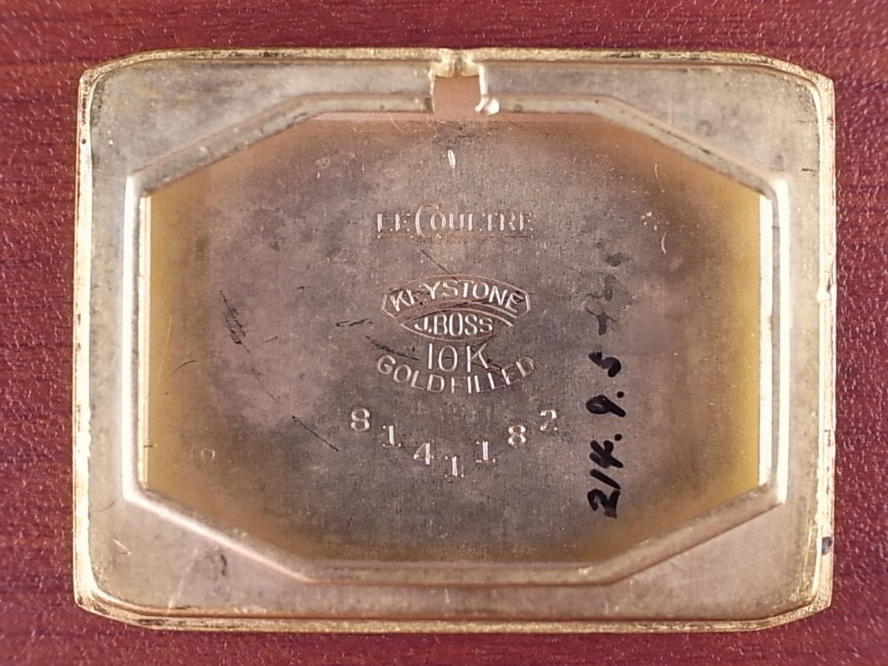 ルクルト トリプルカレンダームーンフェイズ レクタンギュラー 1940年代の写真6枚目