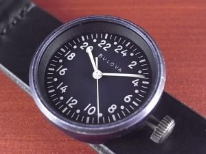 ブローバ TE-17 アメリカ海軍 航空偵察カメラ用 24時間時計 1960年代