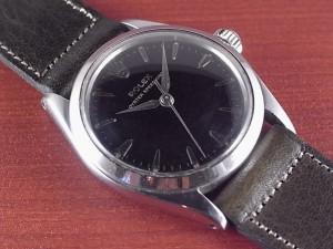 ロレックス スピードキング Ref.6430 ブラックミラー ボーイズサイズ 1960年代