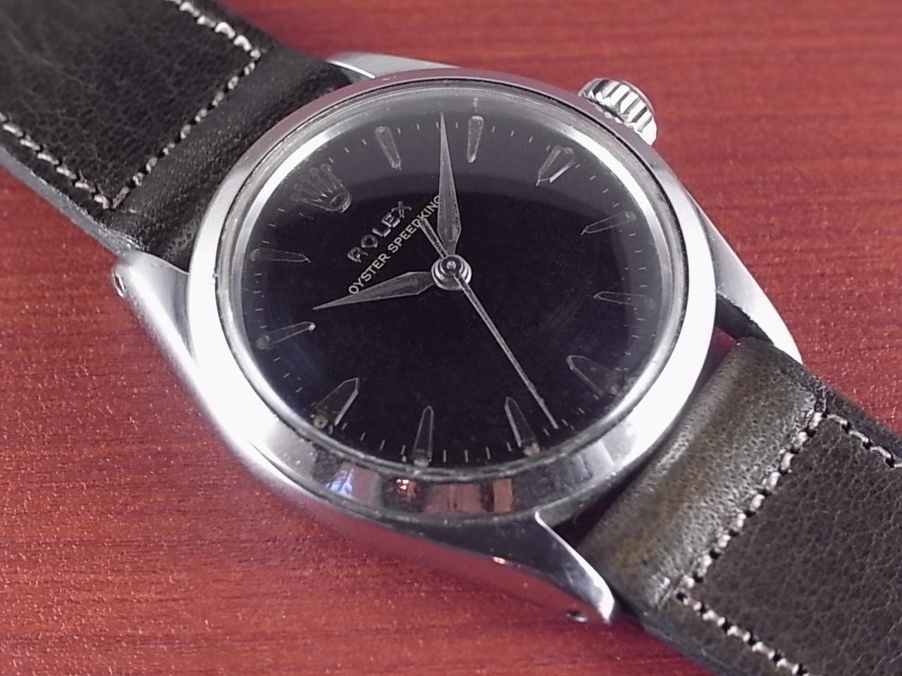 ロレックス スピードキング Ref.6430 ブラックミラー ボーイズサイズ 1960年代のメイン写真