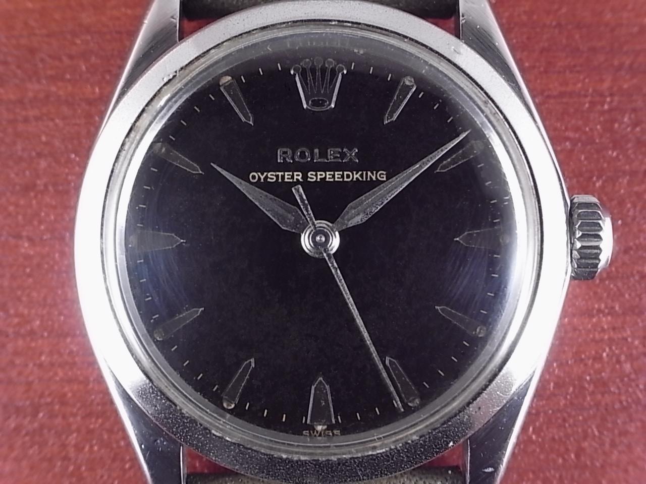 ロレックス スピードキング Ref.6430 ブラックミラー ボーイズサイズ 1960年代の写真2枚目